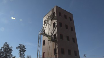 Iconic Greensboro fire drill tower will be demolished, replaced with state-of-the-art training facility