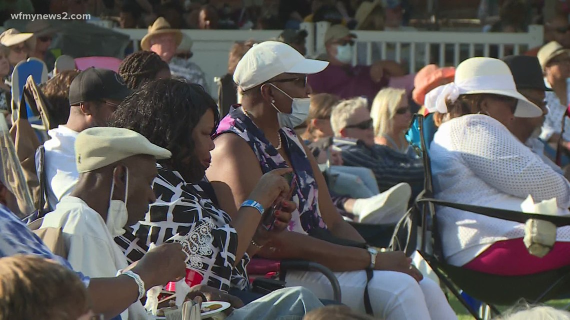 Hundreds head out to LeBauer Park for the 35th annual Carolina Blues Festival