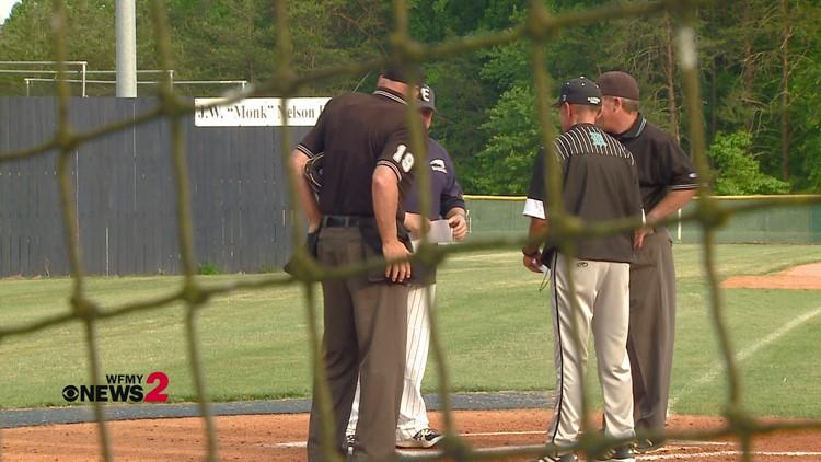 High School Baseball:  Reagan vs. East Forsyth