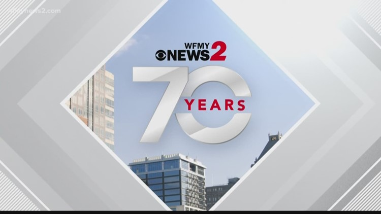 WFMY News 2 Celebrates 70 Years At The Greensboro Grasshoppers Game