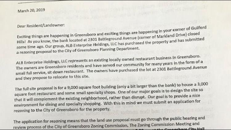 Guilford Hills Neighbors Fight an Uphill Rezoning Battle