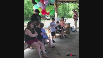 'I Hope This Helps,' Greensboro Boy Sends Up Balloons With Money On His Birthdays