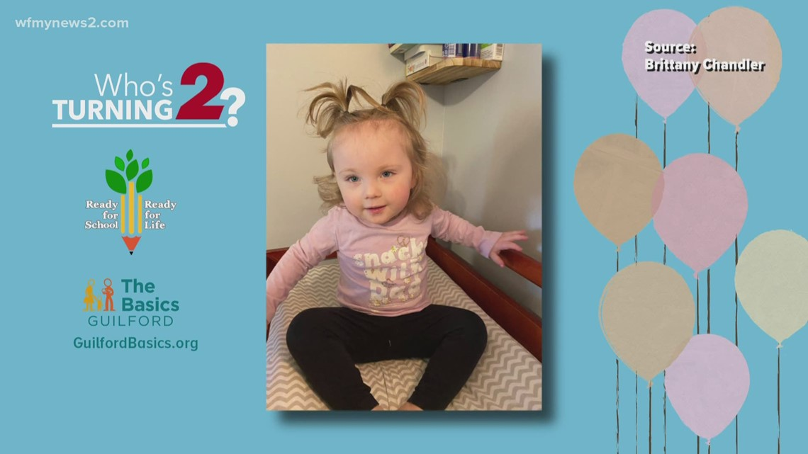 Who's turning two?