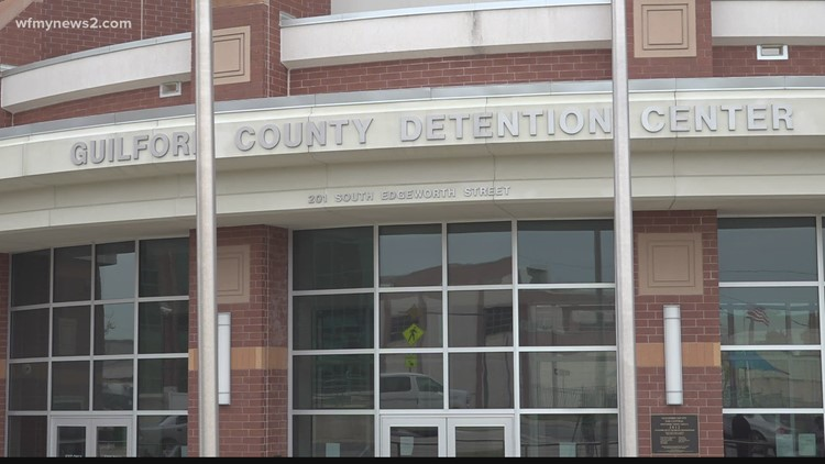 Guilford county inmates receive the COVID-19 vaccine