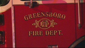 Oil Container Catches Greensboro Building on Fire