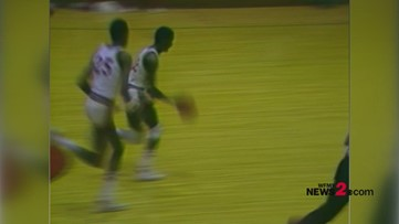 Throwback Hoops:  Video from 1983 of Wake Forest HC Danny Manning playing for Page High School