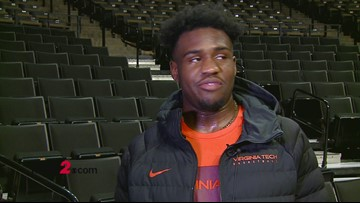 Interview with Virginia Tech's Isaiah Wilkins ahead of Tuesday's matchup vs. Wake Forest