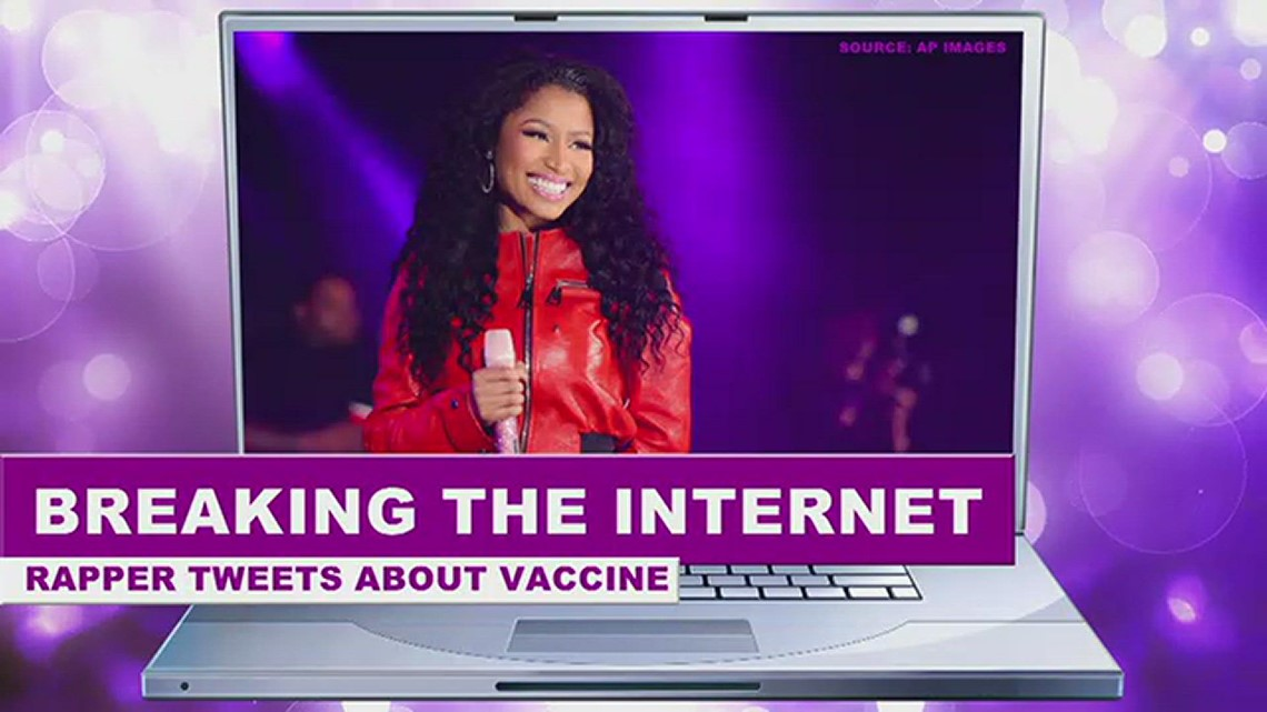 Nicki Minaj's tweets about vaccines and male impotence go viral. Here are the facts.