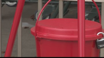 Salvation Army Holds Angel Tree and Red Kettle Campaign