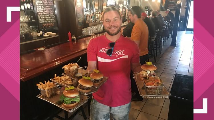 Hops Burger Bar, food