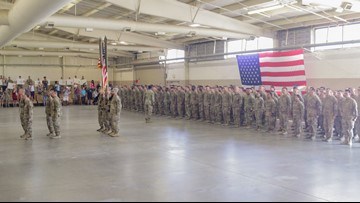 Welcome Home 525! More Than 200 Soldiers with 525th Expeditionary Military Intelligence Brigade  Return to NC