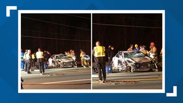 Crash closes portion of Randleman Road: Police