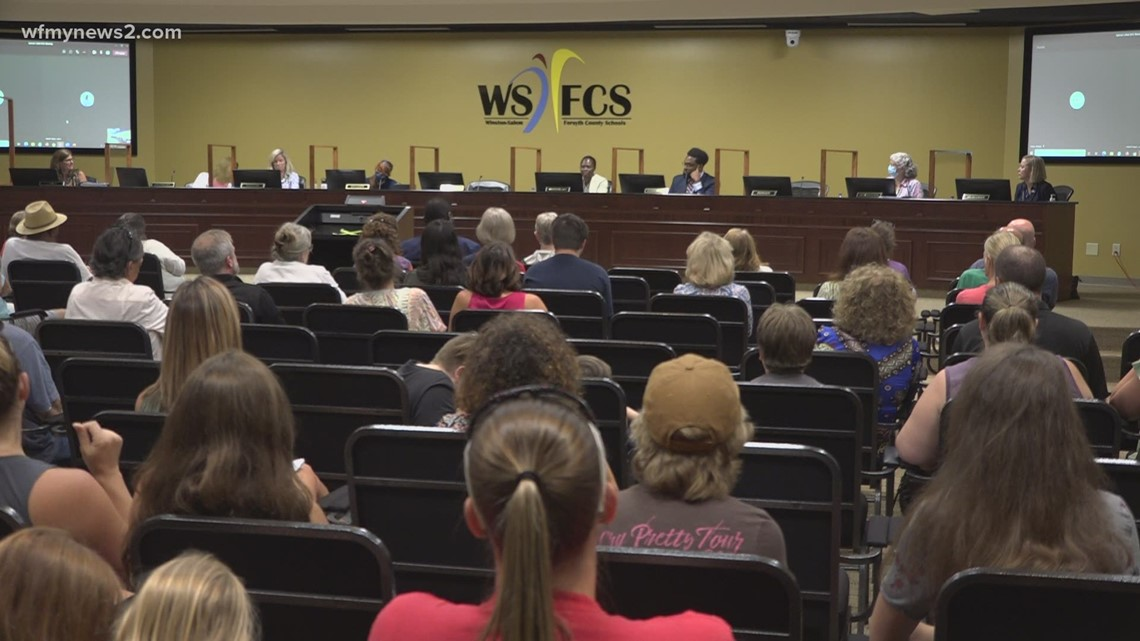Winston-Salem Forsyth County Schools will require masks for students and teachers