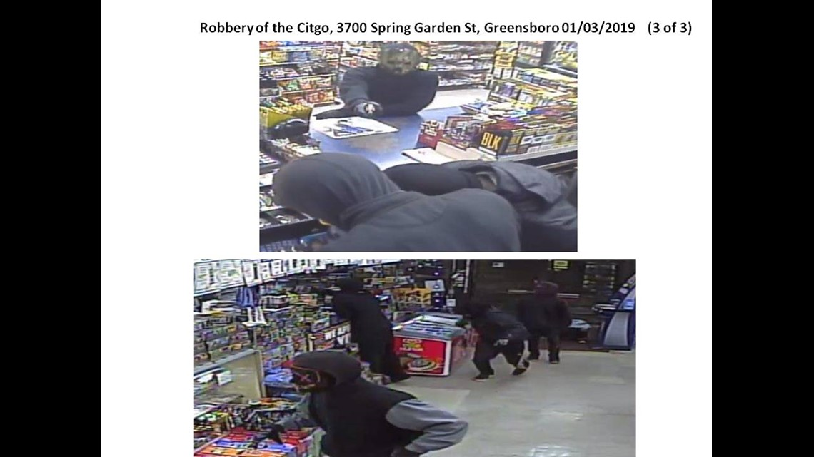 $5,000 Reward for Information on Serial Robberies in Greensboro