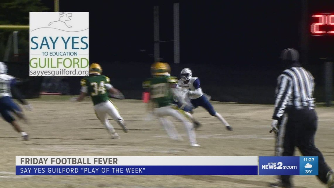 Friday Football Fever Say Yes Guilford
