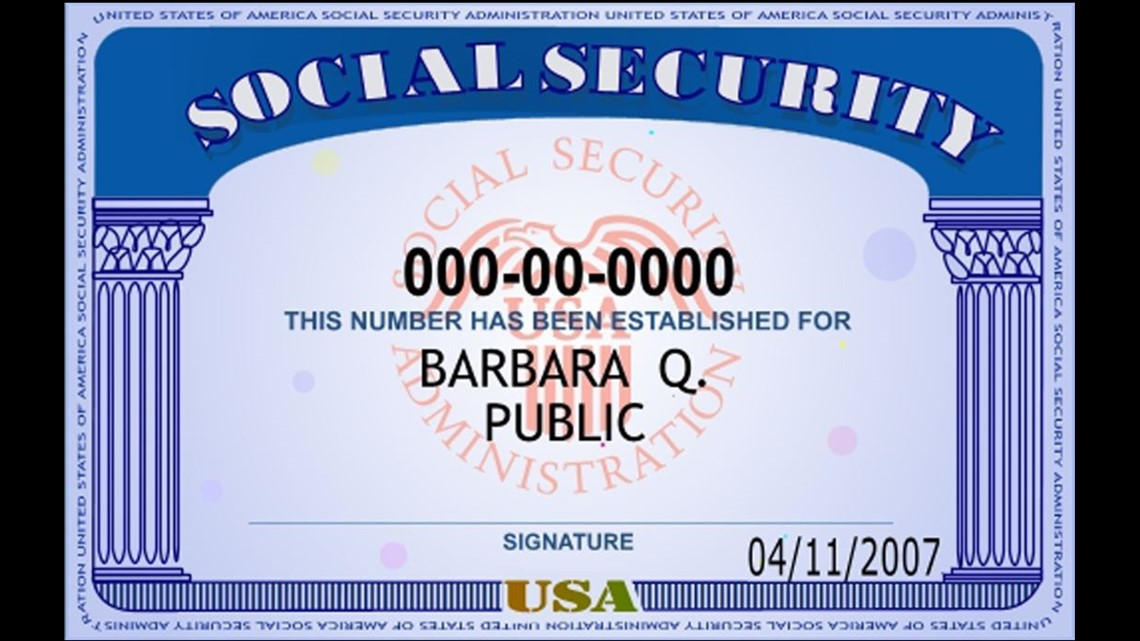 Images of Suspension Of Social Security Number - #rock-cafe
