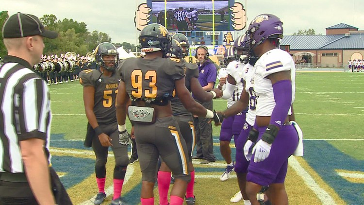 North Alabama vs. North Carolina A&T Big South Conference Football Matchup