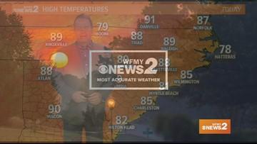 Ed Matthews' Early Sunday Morning Forecast