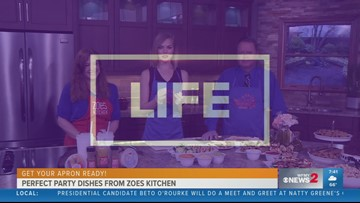 Perfect Party Dishes from Zoes Kitchen