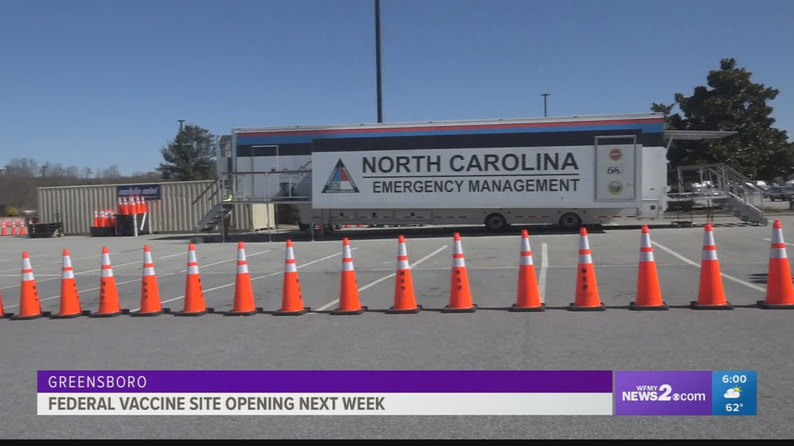 Air Force, National Guard coming to Greensboro federal vaccine clinic