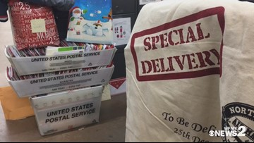 Special delivery for William Sidebottom from USPS