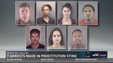 Winston Salem Escorts >> Several Arrests Made In Winston Salem Prostitution Sting