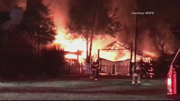 Family Survives House Fire Because of Smoke Alarms