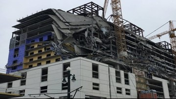 Chaos, Panic Ensues After Hotel Construction Unexpectedly Collapses in New Orleans
