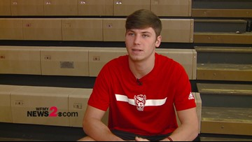 Interview with East Surry WR Dillon Mosley