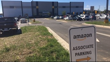 Amazon's New Delivery Station Opens In Colfax
