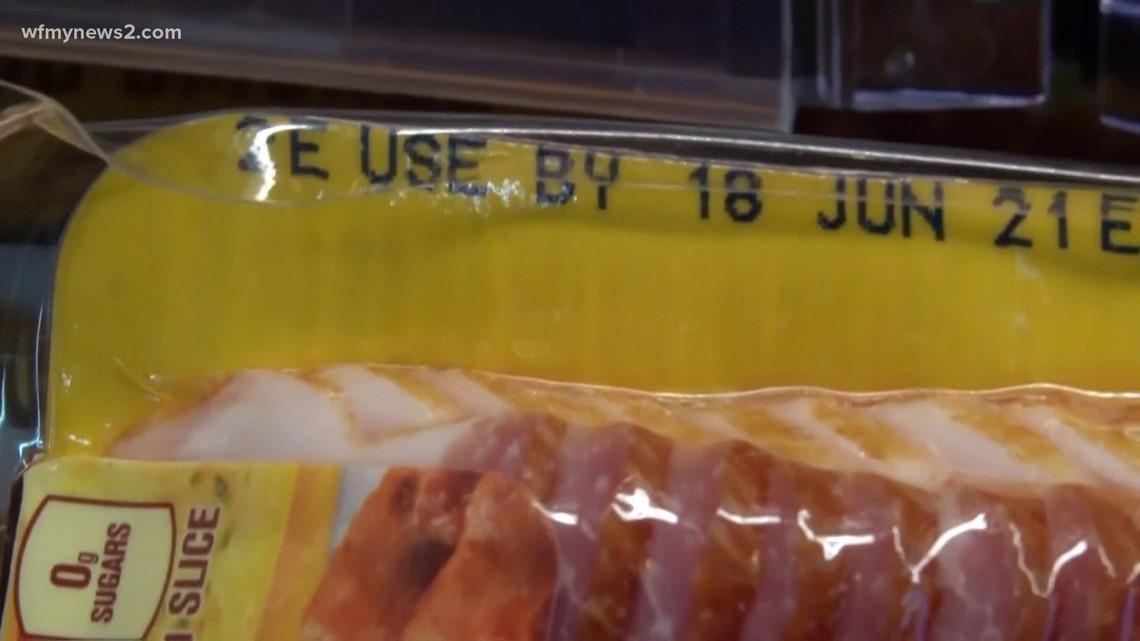Breaking down food label dates