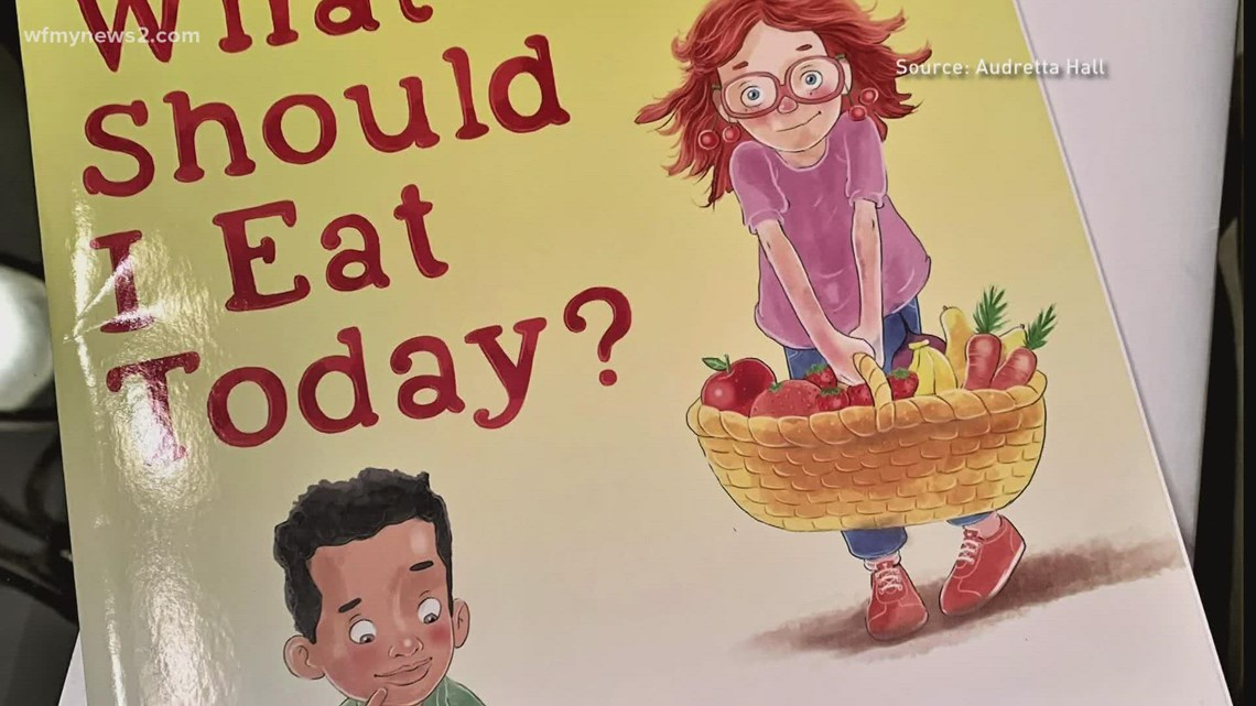 Food for kids: Greensboro author teaches kids about nutrition and healthy eating