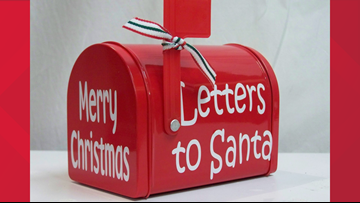 Get a personalized letter from Santa through the U.S. Postal Service