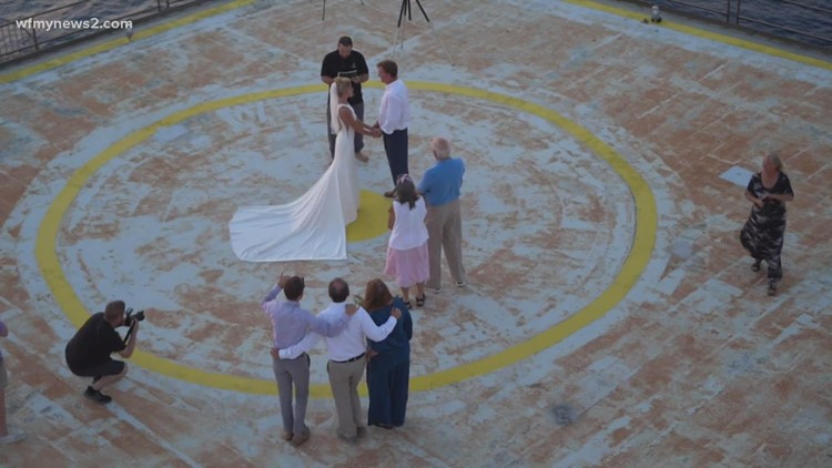 Frying Pan Wedding: A North Carolina couple got married 40 miles offshore