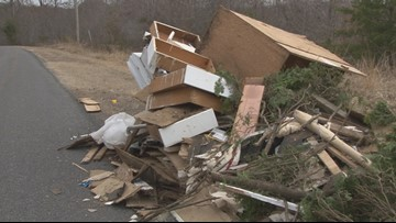 Illegal Dumping A Big Issue In Guilford County