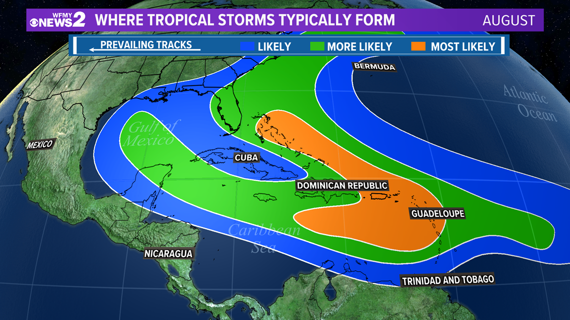 August is here: What that means for hurricane season