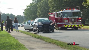 Cash and Crash | A Treasure Hunt For $2,000 in Greensboro Ends in Multiple Car Crashes