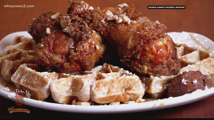 Celebrating Black History Month at Dame's Chicken and Waffles in Greensboro