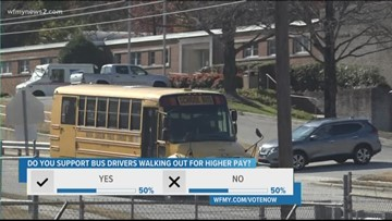 What Do Guilford School Bus Drivers Have To Say Upcoming Walk Out?