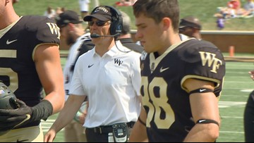 Wake Forest's Dave Clawson named to Bear Bryant Award Watch List