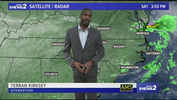 Terran Kirksey's Saturday Afternoon Weather Forecast