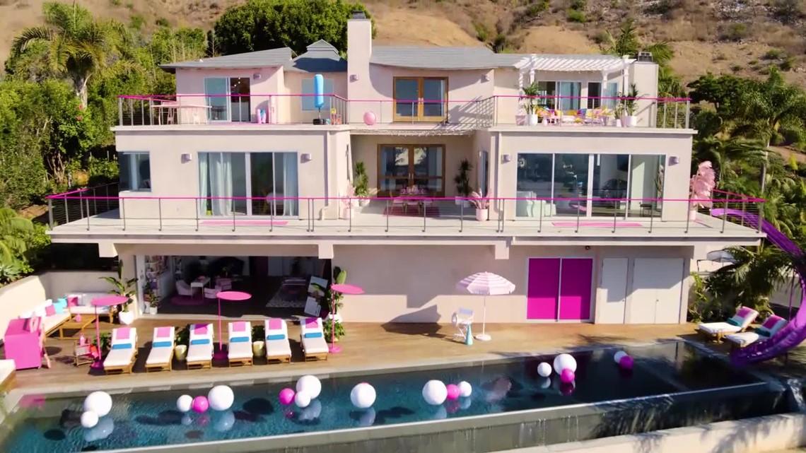 Spend The Night In The Barbie Dream House Airbnb In Malibu