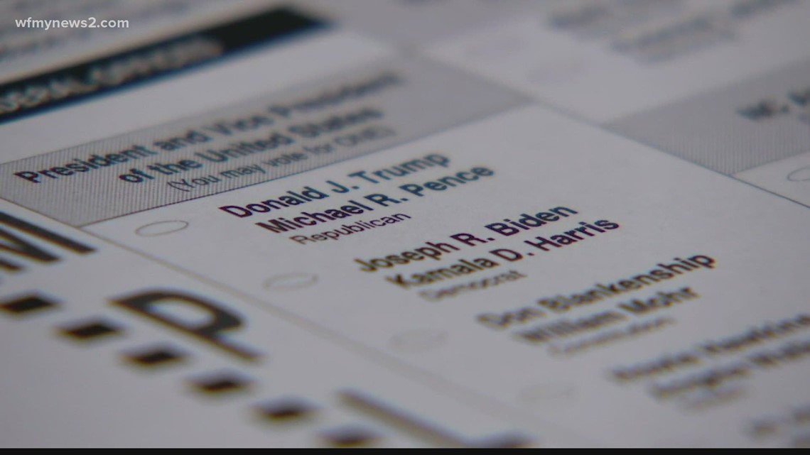 Helping elderly voters cast their ballots