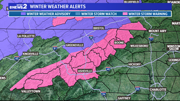 Early December snow to hit the NC Mountains