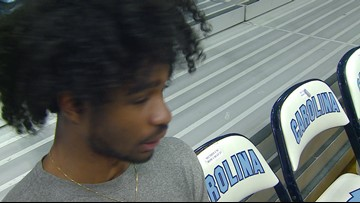 Interview With UNC Point Guard Coby White Ahead Of Wednesday's Game At Duke