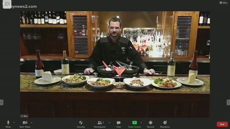 Cooking up summertime seafood dishes in the News 2 Virtual Kitchen