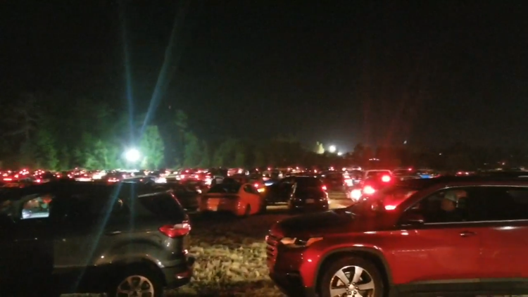 Parking lot at Epicenter