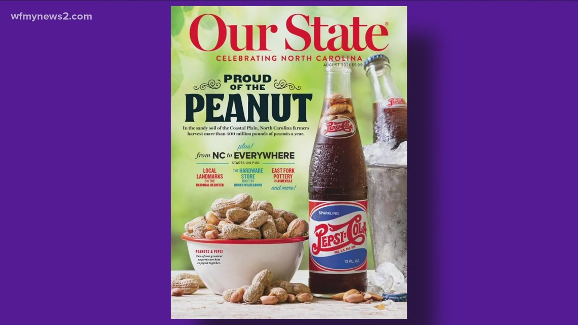 Pepsi and peanuts! Check out New Bern's favorite soft drink and legumes from Hampton Farms in August's edition of Our State Magazine