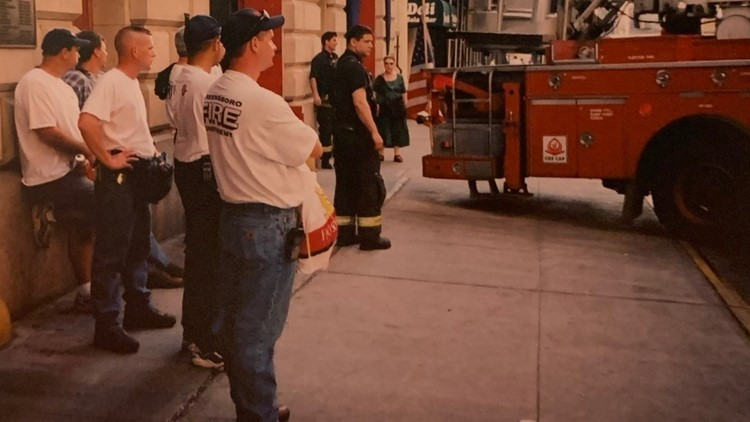 Greensboro firefighters reflect back on 9/11 while hoping our country can unite once again
