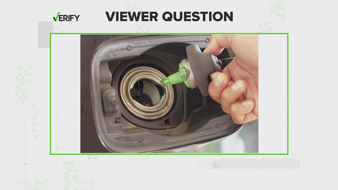 VERIFY: Running near E? It won't harm your car to let your gas tank get below a quarter